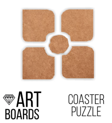 "Заготовка ART Board Creative ""Coaster Puzzle"", пазл №2"